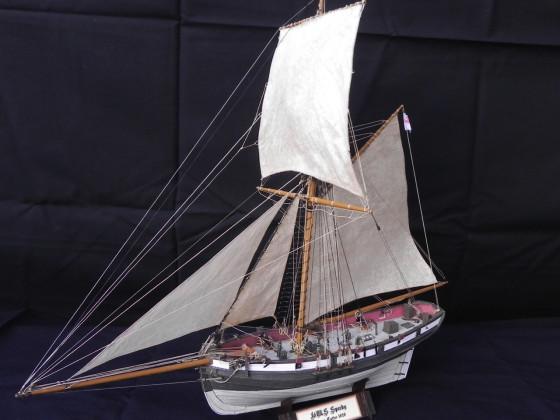 HM Cutter Speedy, Kartonmodell 1:100