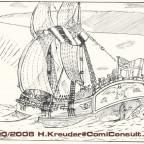 Die Falcon im zweiten abgeschlossenen Comic mit Quincey Howard