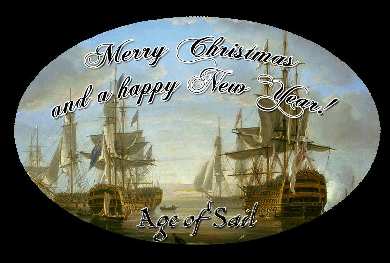 Age of Sail wünscht frohe Weihnachten und gutes Neues Jahr 2017!